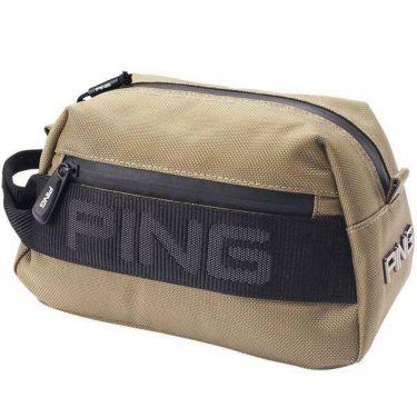 ピン PING メンズ マウンテンシリーズ ポーチ GB-P206 35048-02 Beige 2020年モデル