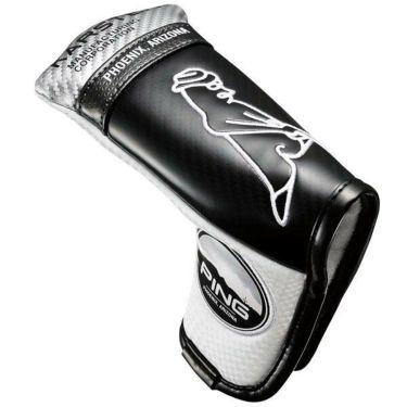 ピン PING Mr.PING PUTTER COVER ミスターピン パターカバー HC-C202 35066-01 White/Black 2020年モデル