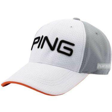 ピン PING メンズ SPLASH MESH CAP スプラッシュメッシュキャップ HW-P203 35033-01 White 2020年モデル
