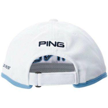 ピン PING メンズ LIGHTWEIGHT CAP 軽量キャップ HW-P205 35035-01 White 2020年モデル 商品詳細2