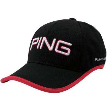 ピン PING メンズ LIGHTWEIGHT CAP 軽量キャップ HW-P205 35035-02 Black 2020年モデル