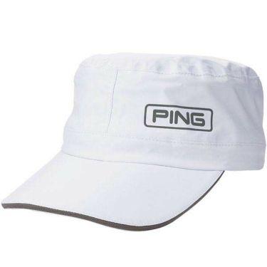 ピン PING メンズ RAIN CAP レインキャップ HW-U203 35039-01 White 2020年モデル