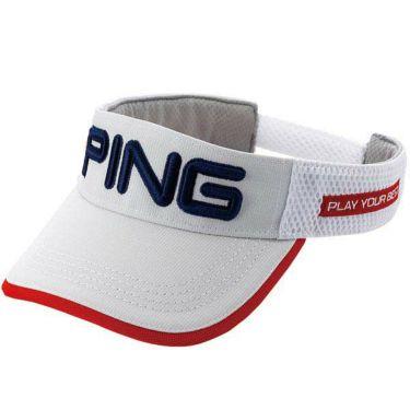 ピン PING メンズ BELLOASIS VISOR ベルオアシスバイザー HW-P202 35032-01 White 2020年モデル