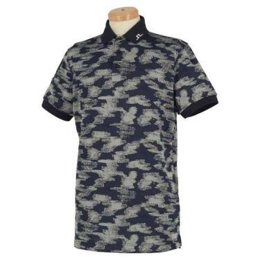 Jリンドバーグ J.LINDEBERG メンズ 総柄 ロゴ刺繍 半袖 ポロシャツ 071-22345 2020年モデル 商品詳細2
