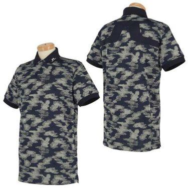 Jリンドバーグ J.LINDEBERG メンズ 総柄 ロゴ刺繍 半袖 ポロシャツ 071-22345 2020年モデル 商品詳細4