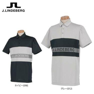 Jリンドバーグ J.LINDEBERG メンズ ラインロゴ 半袖 ポロシャツ 071-22347 2020年モデル