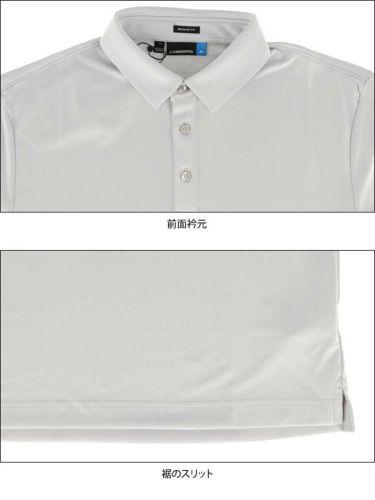 Jリンドバーグ J.LINDEBERG メンズ ラインロゴ 半袖 ポロシャツ 071-22347 2020年モデル 商品詳細6