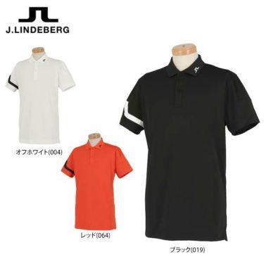 Jリンドバーグ J.LINDEBERG メンズ ロゴ刺繍 ブリッジマークプリント 半袖 ポロシャツ 071-22354 2020年モデル