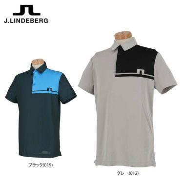 Jリンドバーグ J.LINDEBERG メンズ カラーブロック 半袖 ポロシャツ 071-22356 2020年モデル