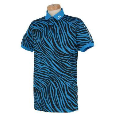 Jリンドバーグ J.LINDEBERG メンズ ゼブラ柄 半袖 ポロシャツ 071-22442 2020年モデル 商品詳細3