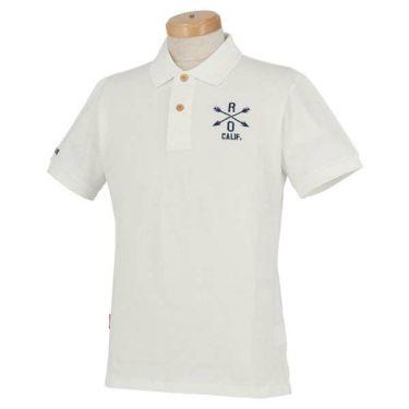 ロサーセン Rosasen メンズ ベアカノコ ロゴ刺繍 半袖 ポロシャツ 044-22241 2020年モデル 商品詳細2