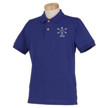 ロサーセン Rosasen メンズ ベアカノコ ロゴ刺繍 半袖 ポロシャツ 044-22241 2020年モデル 商品詳細4