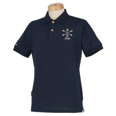 ロサーセン Rosasen メンズ ベアカノコ ロゴ刺繍 半袖 ポロシャツ 044-22241 2020年モデル 商品詳細5