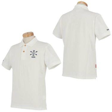 ロサーセン Rosasen メンズ ベアカノコ ロゴ刺繍 半袖 ポロシャツ 044-22241 2020年モデル 商品詳細7