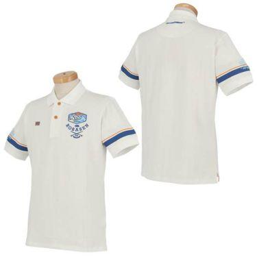 ロサーセン Rosasen メンズ ベアカノコ ロゴ刺繍 袖ライン 半袖 ポロシャツ 044-22244 2020年モデル 商品詳細7