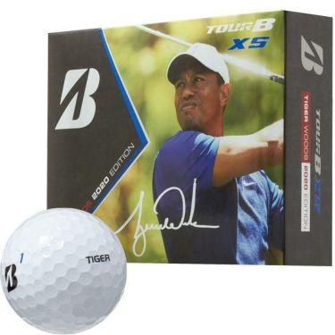 ブリヂストン TOUR B XS ツアーB エックスエス タイガーウッズ エディション ゴルフボール 1ダース(12球入り) 2020年数量限定モデル