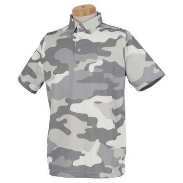 ニューエラ NEW ERA メンズ ウッドランドカモフラージュ柄 半袖 ボタンダウン ポロシャツ 2020年モデル 商品詳細2