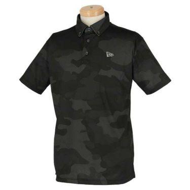 ニューエラ NEW ERA メンズ ウッドランドカモフラージュ柄 半袖 ボタンダウン ポロシャツ 2020年モデル 商品詳細3