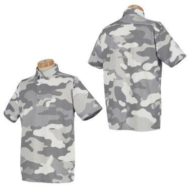 ニューエラ NEW ERA メンズ ウッドランドカモフラージュ柄 半袖 ボタンダウン ポロシャツ 2020年モデル 商品詳細5