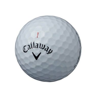 キャロウェイ クロム ソフト ゴルフボール 2020年モデル 1ダース(12球入り) ホワイト 商品詳細3