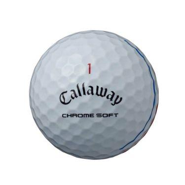 キャロウェイ クロム ソフト トリプルトラック ゴルフボール 2020年モデル 1ダース(12球入り) ホワイト 商品詳細2