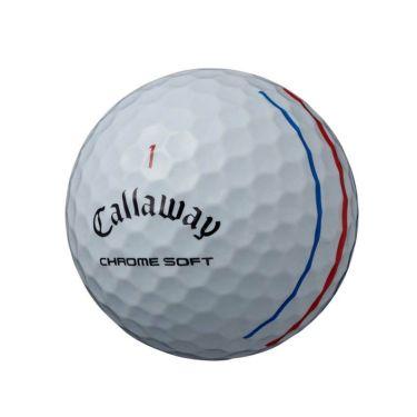 キャロウェイ クロム ソフト トリプルトラック ゴルフボール 2020年モデル 1ダース(12球入り) ホワイト 商品詳細3