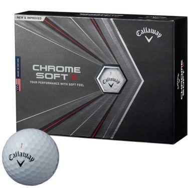 キャロウェイ クロム ソフトX ゴルフボール 2020年モデル 1ダース(12球入り) ホワイト