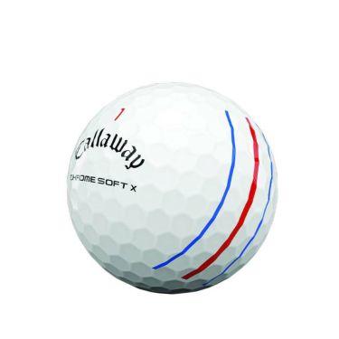 キャロウェイ クロム ソフトX トリプルトラック ゴルフボール 2020年モデル 1ダース(12球入り) ホワイト 商品詳細2