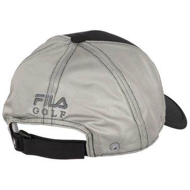 フィラ FILA メンズ ロゴ刺繍 日除け布付き メッシュ キャップ 740-911 BK ブラック 2020年モデル 商品詳細2