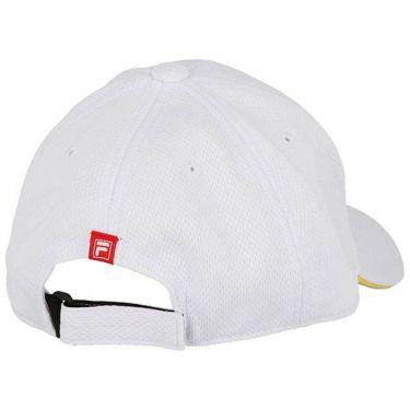 フィラ FILA レディース ロゴ刺繍 メッシュ キャップ 750-902 WT ホワイト 2020年モデル 商品詳細2