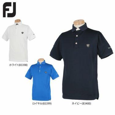 【ss特価】△フットジョイ FootJoy メンズ 鹿の子 生地切替 カラーブロック 半袖 ポロシャツ FJ-S20-S21 2020年モデル 詳細1