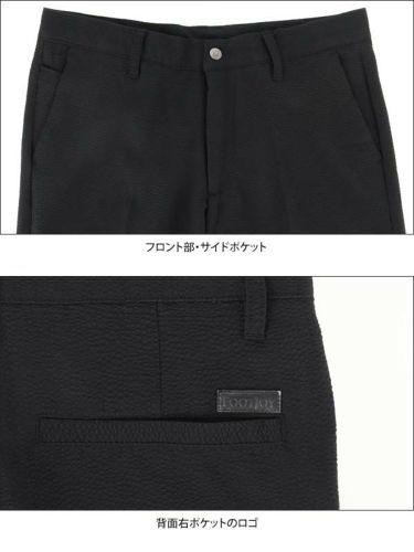 フットジョイ FootJoy メンズ ストレッチ シアサッカー生地 ショートパンツ FJ-S20-P11 2020年モデル 商品詳細7