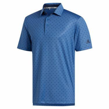 【ss特価】△アディダス adidas メンズ ULTIMATE365 モノグラム柄 半袖 ポロシャツ GLB30 2020年モデル トレースロイヤル(FJ9827)