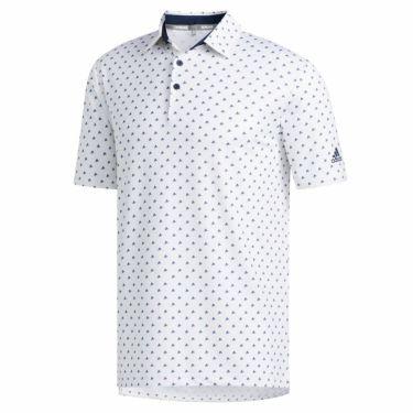 【ss特価】△アディダス adidas メンズ ULTIMATE365 モノグラム柄 半袖 ポロシャツ GLB30 2020年モデル ホワイト(FJ9828)