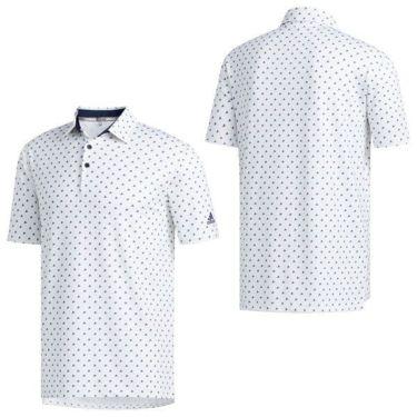 【ss特価】△アディダス adidas メンズ ULTIMATE365 モノグラム柄 半袖 ポロシャツ GLB30 2020年モデル 詳細2