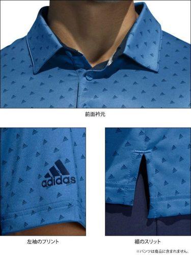 【ss特価】△アディダス adidas メンズ ULTIMATE365 モノグラム柄 半袖 ポロシャツ GLB30 2020年モデル 詳細3