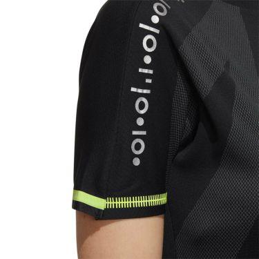 アディダス adidas レディース インナーパンツ付き 半袖 モックネック ワンピース GKI48 2020年モデル ブラック(FJ3850) 詳細4