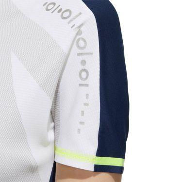 アディダス adidas レディース インナーパンツ付き 半袖 モックネック ワンピース GKI48 2020年モデル ホワイト(FJ3851) 詳細5
