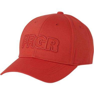 PRGR プロギア メンズ ステッチキャップ PCAP-104 OR オレンジレッド 2020年モデル