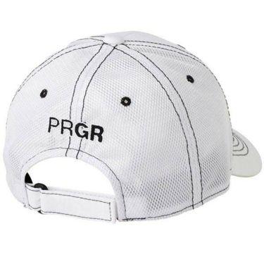PRGR プロギア メンズ ハーフメッシュキャップ PMCAP-104 WB ホワイト×ブラック 2020年モデル 商品詳細2