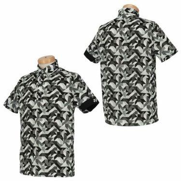 ヨネックス YONEX メンズ 総柄プリント ロゴ刺繍 メッシュ生地 半袖 ボタンダウン ポロシャツ GWS1148 2020年モデル 商品詳細7