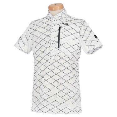 オークリー OAKLEY メンズ SKULL 総柄プリント グリッドパターン 半袖 ポロシャツ FOA400796 2020年モデル 商品詳細3