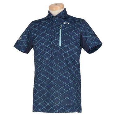オークリー OAKLEY メンズ SKULL 総柄プリント グリッドパターン 半袖 ポロシャツ FOA400796 2020年モデル 商品詳細5