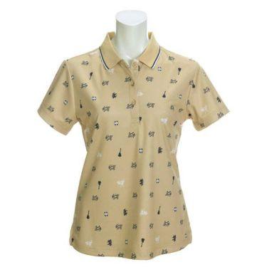 アドミラル Admiral レディース 総柄 半袖 ポロシャツ ADLA018 2020年モデル 商品詳細3