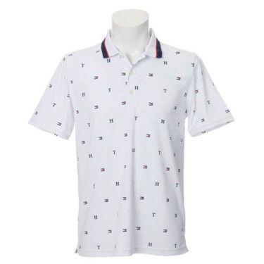 トミー ヒルフィガー ゴルフ メンズ 飛び柄プリント 半袖 ポロシャツ THMA022 2020年モデル 商品詳細2