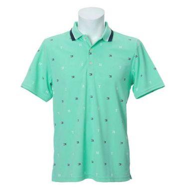 トミー ヒルフィガー ゴルフ メンズ 飛び柄プリント 半袖 ポロシャツ THMA022 2020年モデル 商品詳細4