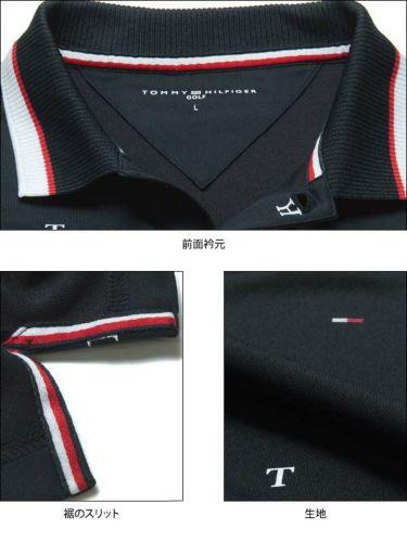 トミー ヒルフィガー ゴルフ メンズ 飛び柄プリント 半袖 ポロシャツ THMA022 2020年モデル 商品詳細8