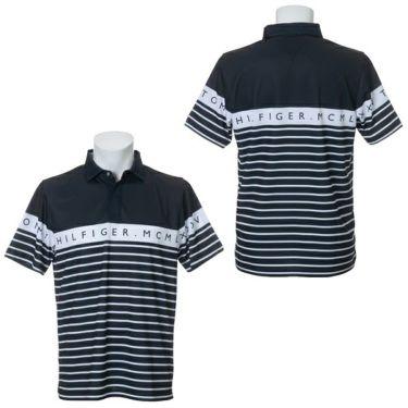 トミー ヒルフィガー ゴルフ メンズ ラインロゴ ボーダー柄 半袖 ポロシャツ THMA023 2020年モデル 商品詳細6