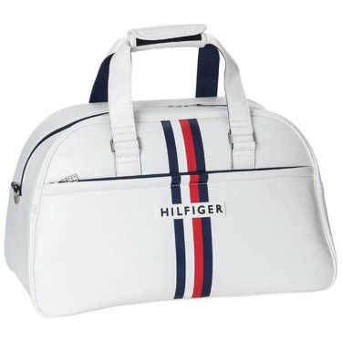 トミー ヒルフィガー ゴルフ ショルダーベルト付き ボストンバッグ THMG0SB4 00 ホワイト 2020年モデル