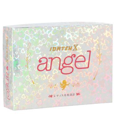 レディース IDATEN X angel 韋駄天X エンジェル 2020年モデル 女性用超高反発 ゴルフボール 1ダース(12球入り) [ルール不適合]
